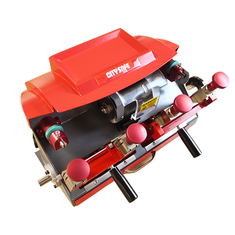 CITYSAFE MORTICE AND CYLINDER MANUAL KEY CUTTING MACHINE