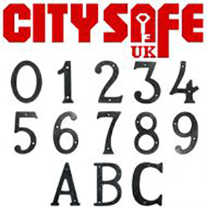 CitySafe UK's Door Hardware Range Includes Rustic and Reliable Black Iron Products