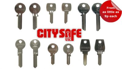 The Key Blanks Keep Coming in at CitySafe UK