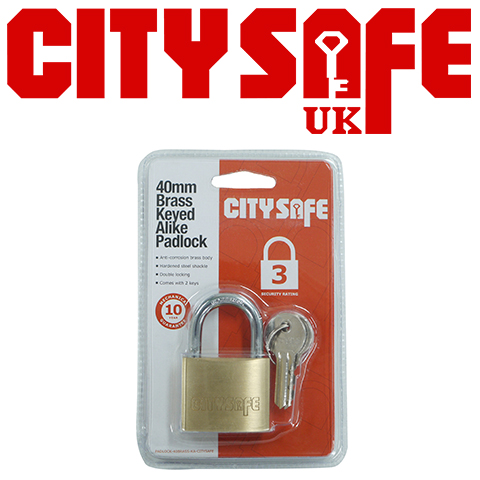 Introducing CitySafe Padlocks – Low Prices without Compromising Quality!