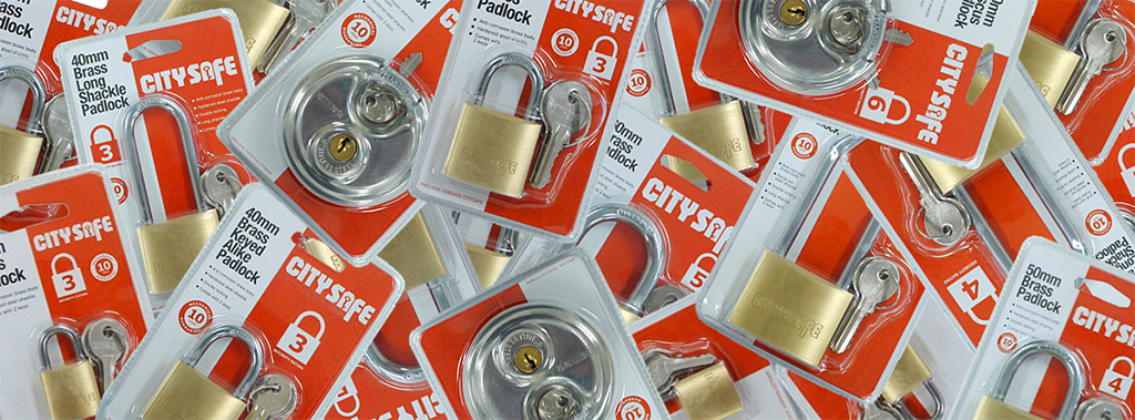 The CitySafe Padlock Bundle is BACK!