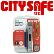 Kitemarked 6 Lever Mortice Dead Lock - Retail Packaged