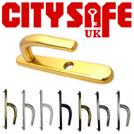 High Security Stainless Steel Front Door Handles