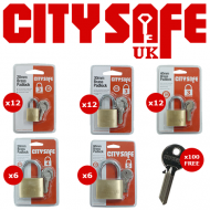 CitySafe Padlock Bundle