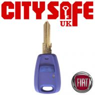 Fiat Repair Key - 1 Button (Includes GT15R Blade)