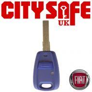 Fiat Repair Key - 1 Button (Includes SIP22 Blade)