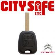 Citroen Repair Key - 2 Button (Includes HU83 Blade)