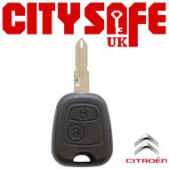 Citroen Repair Key - 2 Button (Includes NE73 Blade)