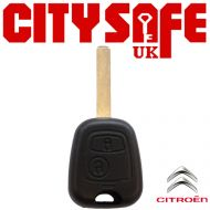 Citroen Repair Key - 2 Button (Includes VA2 Blade)