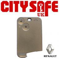 Renault Laguna Card Remote Repair Case - 2 Button