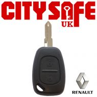 Renault Repair Key - 2 Buttons (Includes NE73 Blade)