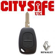 Renault Repair Key - 2 Buttons (Includes VAC102 Blade)