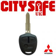 Mitsubishi Repair Key - 3 Buttons (Includes MIT8 Blade)
