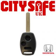 Honda Repair Key - 3 Buttons (Includes HON66 Blade)