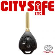 Toyota Repair Key - 3 Buttons (Includes TOY43 Blade)
