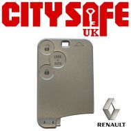 Renault Laguna Card Remote Repair Case - 3 Button