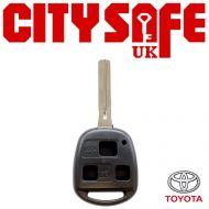 Toyota Repair Key - 3 Buttons (Includes TOY48 Blade)