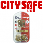CitySafe Door Chains - Retail Packed