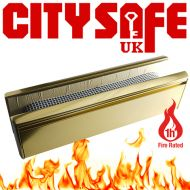 Fire Rated All Aluminium 12 Inch Letterboxes