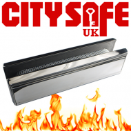 Heavy Duty Fire Rated All Stainless Steel 12 Inch Letterboxes