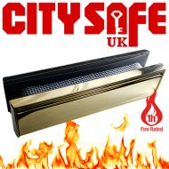 1 Hour Fire Rated All Stainless Steel 12 Inch Letterboxes