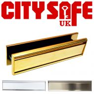 All Stainless Steel 12 Inch Letterboxes