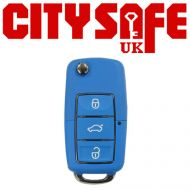 KeyDIY B01 Advanced Car Key Remote In Blue (3 Button)