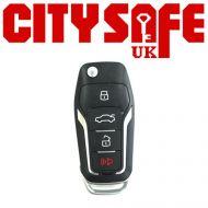 KeyDIY B12 Car Key Remote (3 Button With Panic Button)