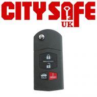 KeyDIY B14 Car Key Remote (3 Button With Panic Button)