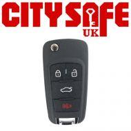 KeyDIY B18 Car Key Remote (3 Button With Panic Button)