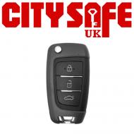 KeyDIY Aftermarket NB25 Universal Car Key Remote (with Integrated Transponder Chip)