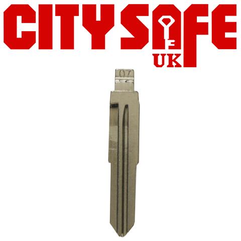 10 x KeyDIY Mitsubishi/Suzuki Key Blades