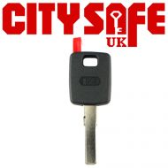 HU66 Keyline Car Key Pod (Audi Style Shaped Head) - AD66TK