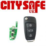 KeyDIY NB02 Car Key Remote For Chrysler (With Integrated Transponder Chip)