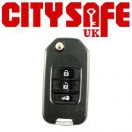KeyDIY NB10 Car Key Remote For Peugeot, Citroen and Honda (With Integrated Transponder Chip)
