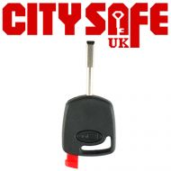 Keyline Car Key Pod FO21 with T17 Chip