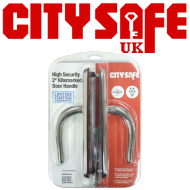 2* Kitemarked High Security Front Door Handles - Retail Packaged