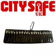 Stud Fasten Wallet Case to Hold 20 Genuine Lishi 2 in 1s
