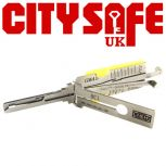 Genuine Lishi Night Vision GM45 3 in 1 Pick and Decoder