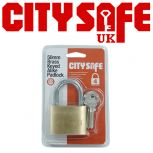 50mm Brass Keyed Alike Padlock