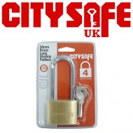 50mm Brass Long Shackle Padlock