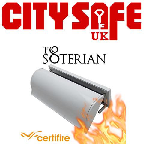 The Soterian TS008 Certifire Letterplate - FD60 Internal Frame