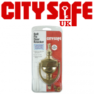 6 Inch Victorian Urn Door Knockers - Retail Packaged
