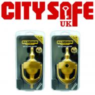 """10 Units - MAX6 6"""" Hidden Fix Victorian Urn Door Knocker"""