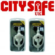 """10 Units - Nanocoast MAX6 6"""" Hidden Fix Victorian Urn Door Knocker"""