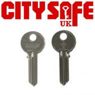 Genuine UAP Short Key Blank - For 25mm Side Cylinders