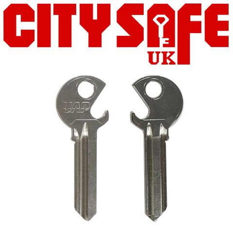 Genuine UAP Universal Bottle Opener Key Blank