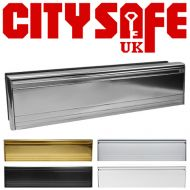 All Aluminium 12 Inch Letterboxes