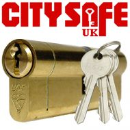 Brass 1* Kitemarked Euro Cylinders - Retail Packaged