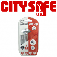 Chrome 1* Kitemarked Thumb Turn Euro Cylinders - Retail Packaged